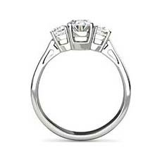 Scarlett oval engagement ring