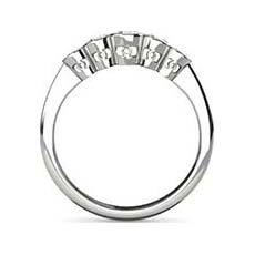 Vivah 5 stone diamond ring